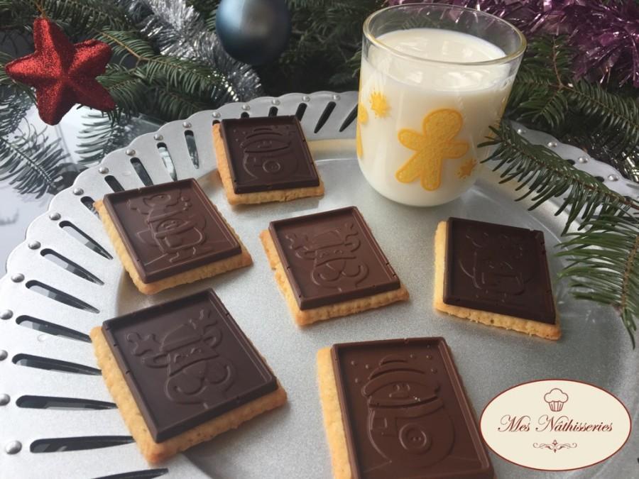 Petits-beurre au chocolat