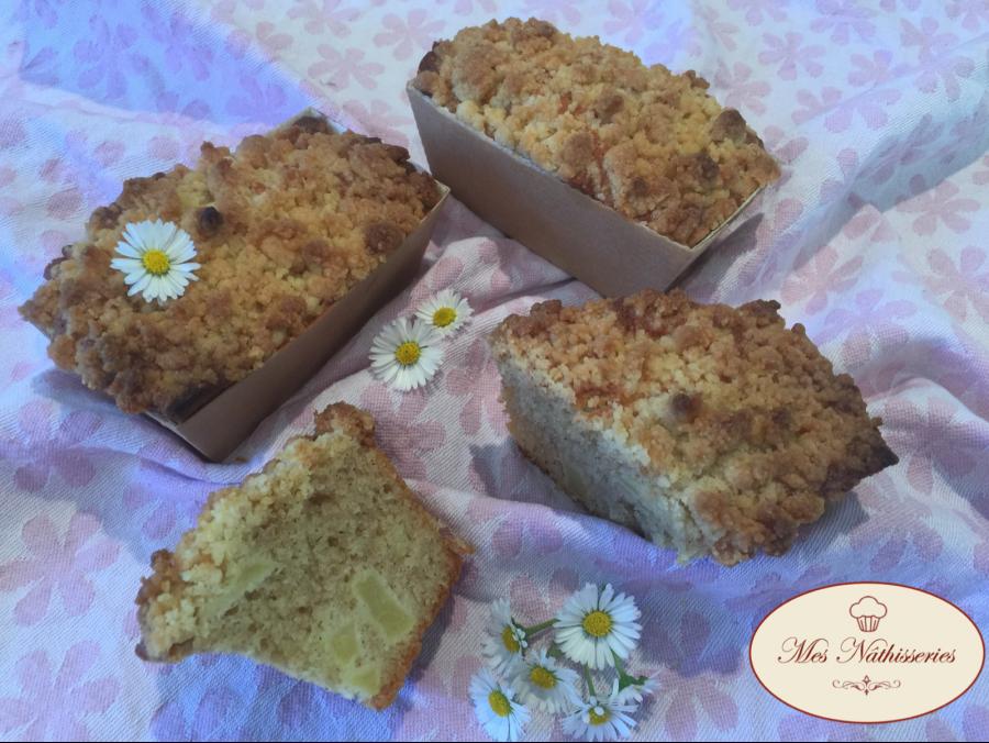 Mini-cakes pommes-cannelle-crumble