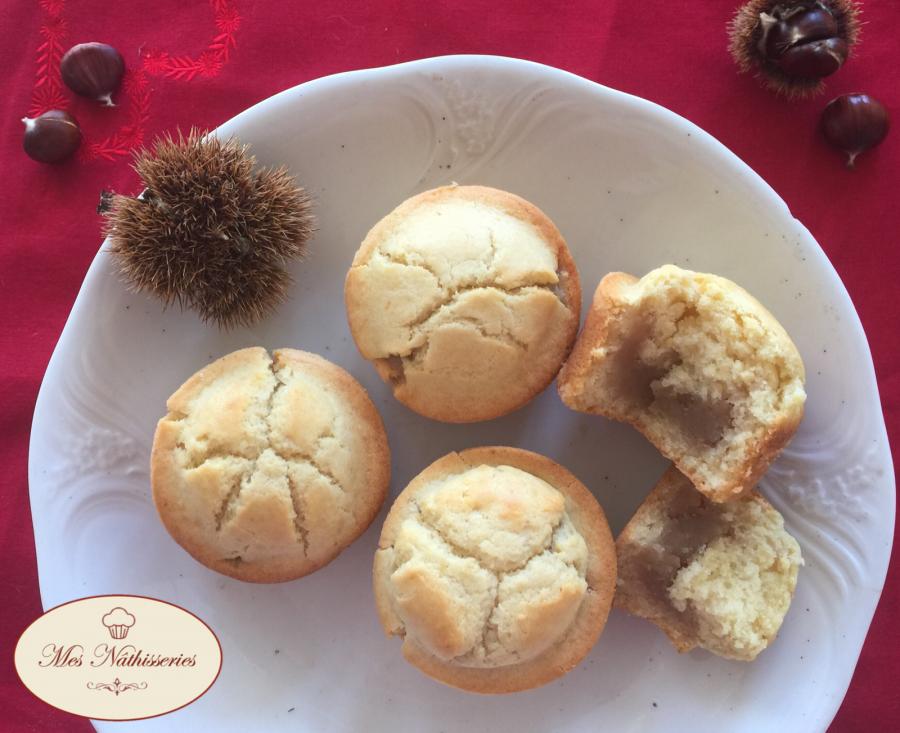 Muffins à la confiture de châtaignes