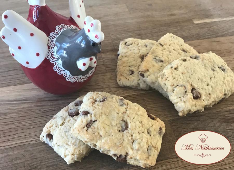 Biscuits cocottes chocolat et graines